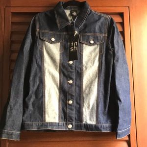 NEW W/TAGS. INSH Shanghai jean jacket never worn.
